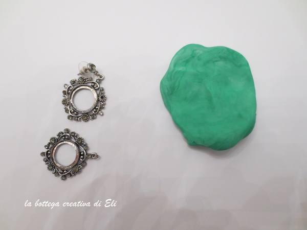 Come fare un ciondolo fai da te con vecchi orecchini Bijoux fai da te creativapp regali fai da te Riciclo Creativo