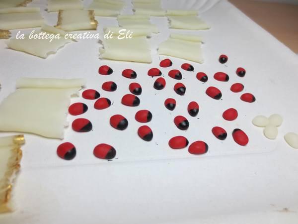 Bomboniere fai-da-te a pergamena in pasta di mais Cerimonie fai da te creativapp pasta di mais regali fai da te