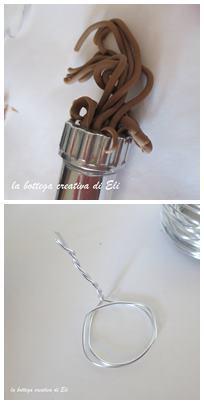 Angioletti fuoriporta in pasta di mais - Natale creativo creativapp home decor Natale fai da te pasta di mais