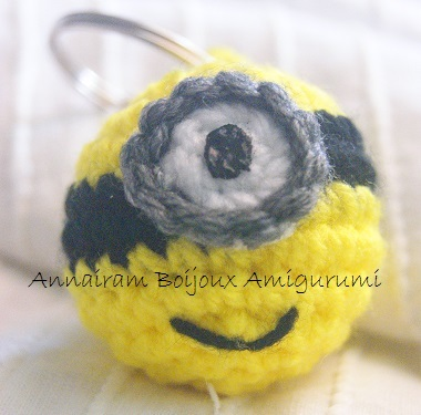 Amigurumi Minions Smile amigurumi creativapp stoffa e lana