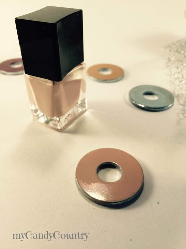 Rondelle di metallo diventano bijoux fai-da-te da realizzare in un minuto Bijoux fai da te metallo Riciclo Creativo