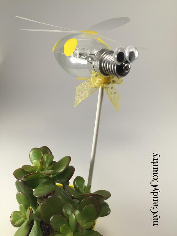 Top Creare un ape fai da te riciclando una lampadina  GL81