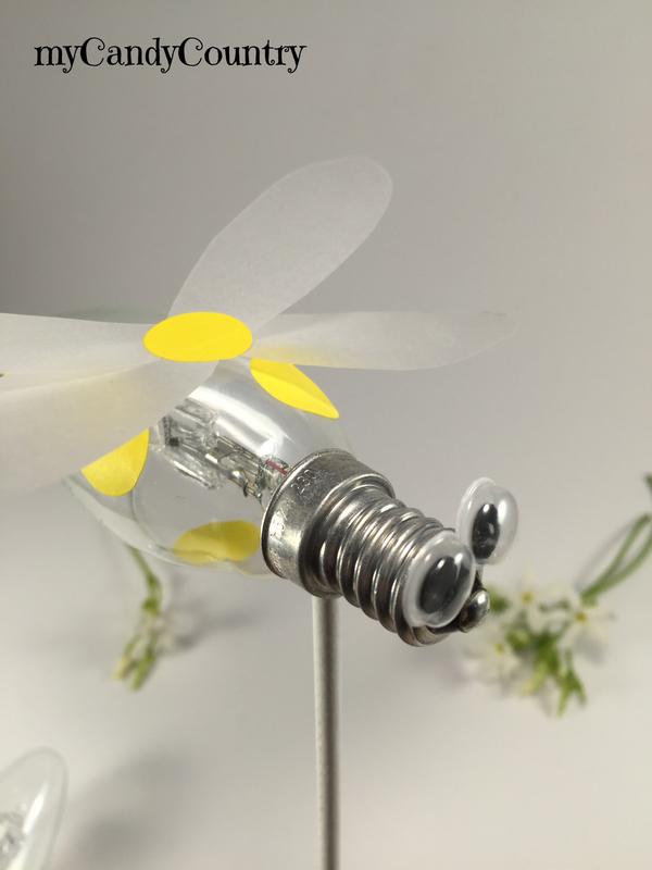 spesso Creare un ape fai da te riciclando una lampadina  YZ32