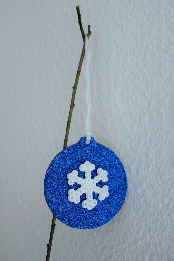Decorazione per l'albero di Natale con le perline da stirare creativapp gomma crepla home decor Natale fai da te plastica