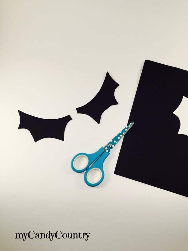 Halloween creativo: pipistrelli fai da te carta e cartone Halloween fai da te plastica