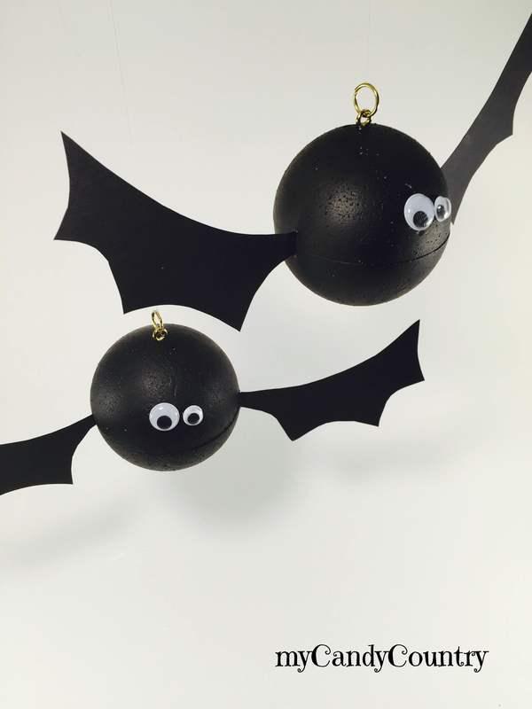 Halloween creativo pipistrelli fai da te for Fai da te creativo
