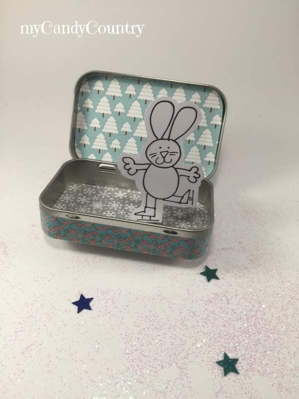 Riciclo Creativo per Bambini: una scatola di latta diventa una pista di pattinaggio bambini carta e cartone metallo Primavera fai da te Riciclo Creativo