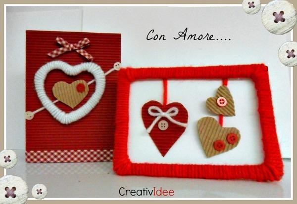 San Valentino fai-da-te: come fare una busta romantica fai-da-te carta e cartone creativapp packaging regali fai da te San Valentino fai da te stoffa e lana