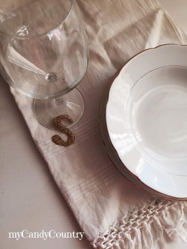 Segnaposto fai-da-te per la tavola di Capodanno Capodanno fai da te home decor plastica