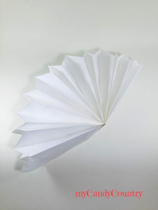 Stella fai da te con buste di carta carta e cartone Compleanni fai da te home decor Riciclo Creativo