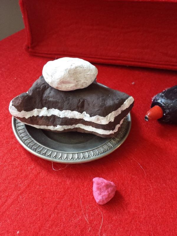 Una fetta di Stone Cake - Idea di Riciclo Creativo creativapp legno e natura Riciclo Creativo
