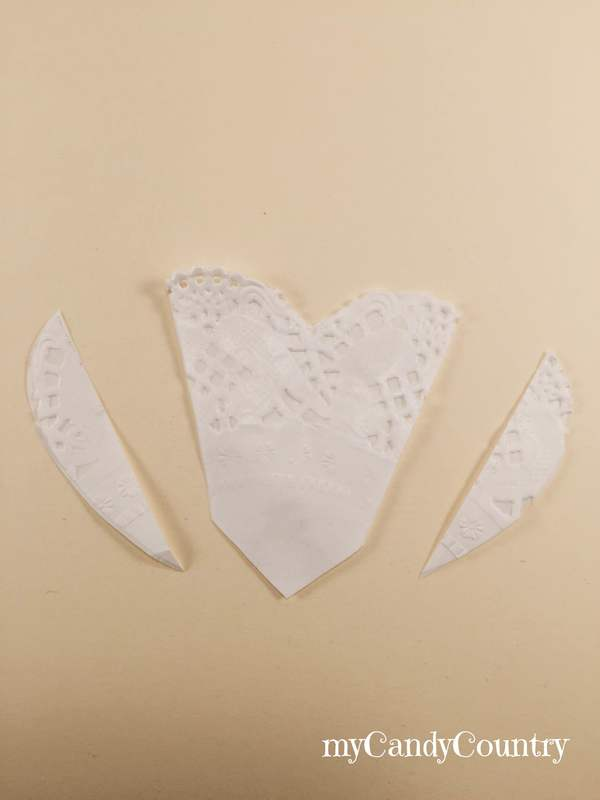 Come fare una Wedding Card fai-da-te riciclando il sottotorta carta e cartone Cerimonie fai da te packaging regali fai da te