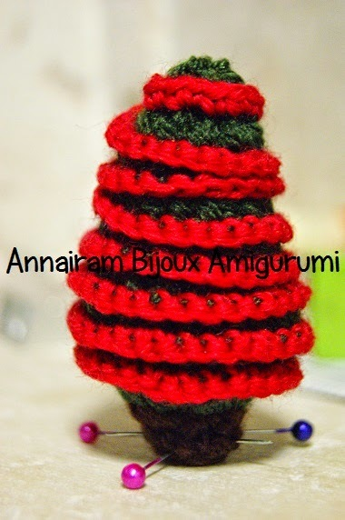 Tutorial Alberello di Natale Amigurumi - Natale Creativo amigurumi creativapp Natale fai da te stoffa e lana