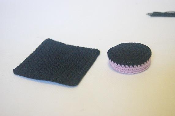 Tocco del laureando amigurumi amigurumi Cerimonie fai da te creativapp regali fai da te stoffa e lana