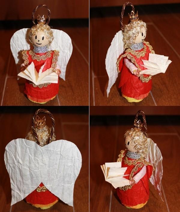 Bien-aimé Natale fai-da-te: Angeli di carta pressata | | myCandyCountry  VI25