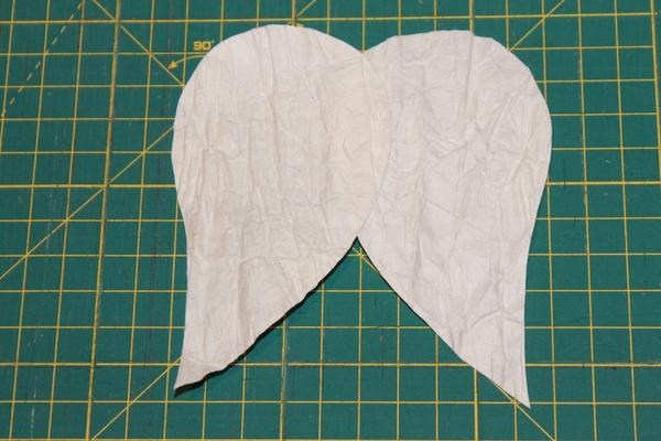 Natale fai-da-te: Angeli di carta pressata carta e cartone creativapp home decor Natale fai da te