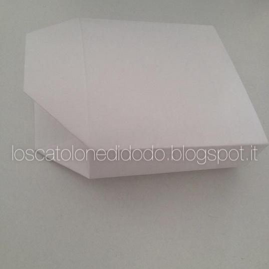 Borsettina porta confetti carta e cartone Cerimonie fai da te creativapp regali fai da te