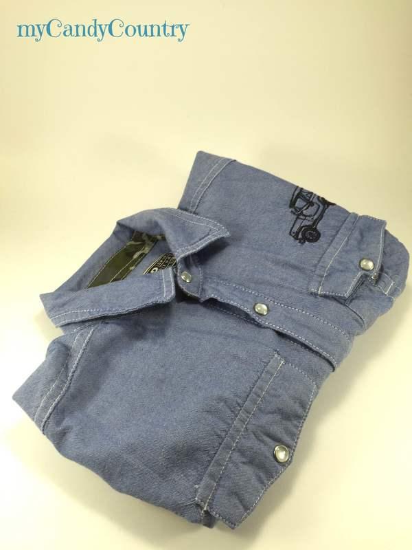Riciclo creativo: busta portabottiglia da una vecchia camicia regali fai da te Riciclo Creativo stoffa e lana