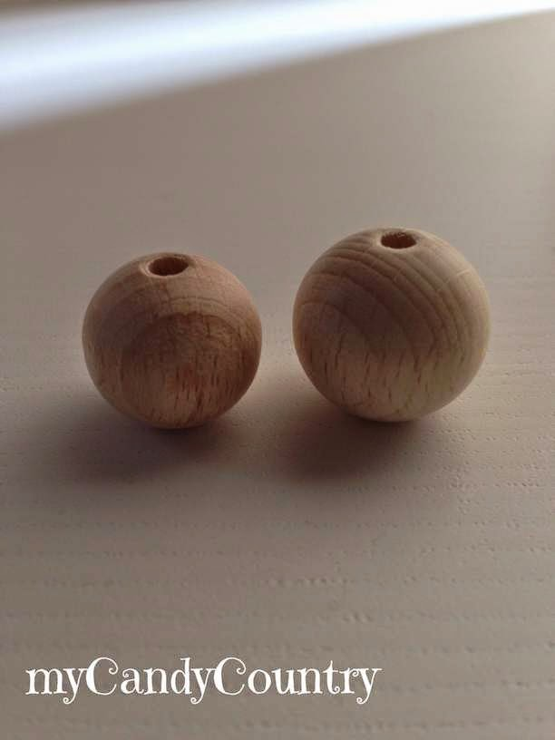 Creare una collana con matrioska fai da te Bijoux fai da te legno e natura spago