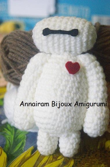 Come fare un personaggio Amigurumi - Bay Max amigurumi creativapp stoffa e lana