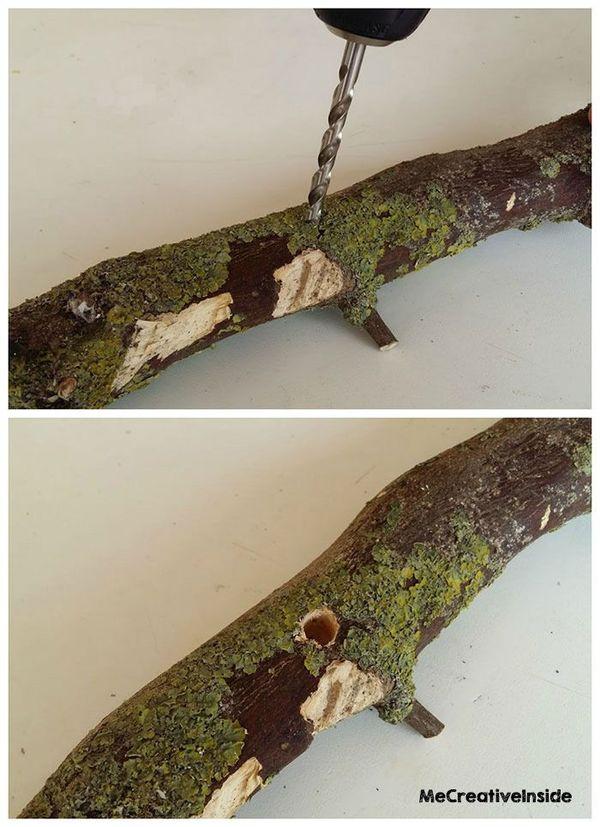 Creare barchette in legno creativapp Estate fai da te home decor legno e natura Riciclo Creativo stoffa e lana
