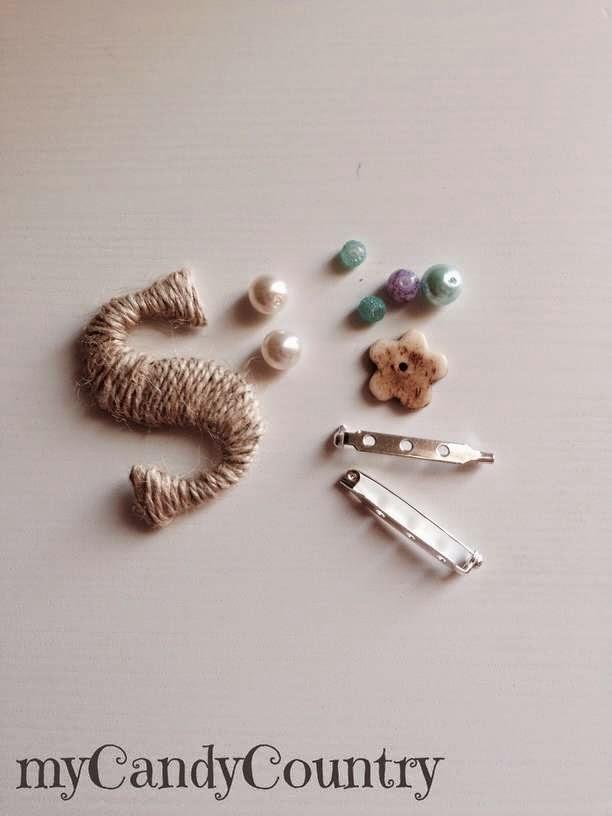 creare bijoux con carta e filo Bijoux fai da te Festa della mamma fai da te spago