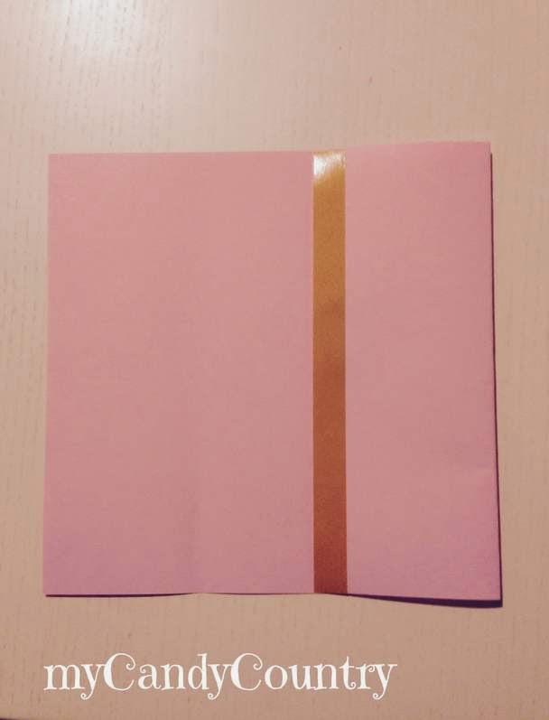 Conosciuto Creare coccarde di carta per buste fai da te | | myCandyCountry  TD51