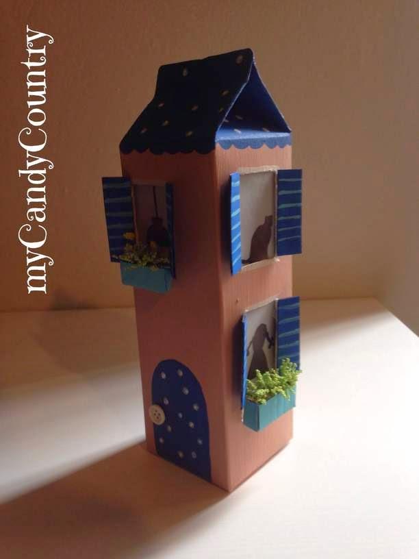 creare una simpatica lampada, riciclando una busta di latte ... - Lampade Riciclo Creativo
