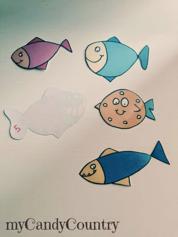 Pescare pesci d 39 aprile creativi gioco per bambini for Creare pesci