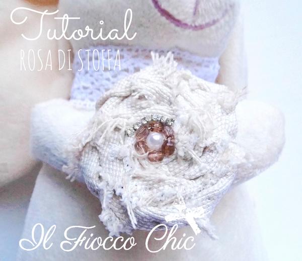 Creare una rosa di stoffa con ago e filo creativapp home decor stoffa e lana