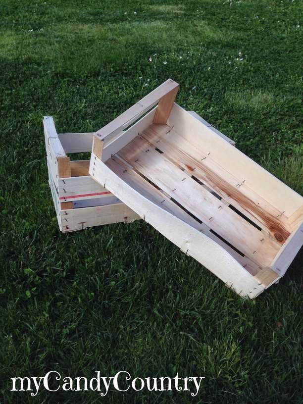 abbastanza creare cuccia per cani o gatto, da una cassetta di legno  AI21