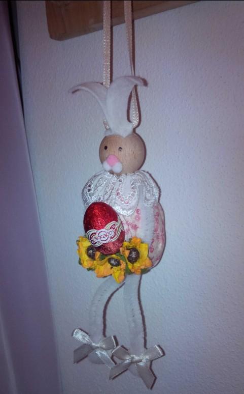 Tutorial pasqua fai da te coniglietto pasquale con uovo - Lettere stampabili del coniglietto di pasqua ...