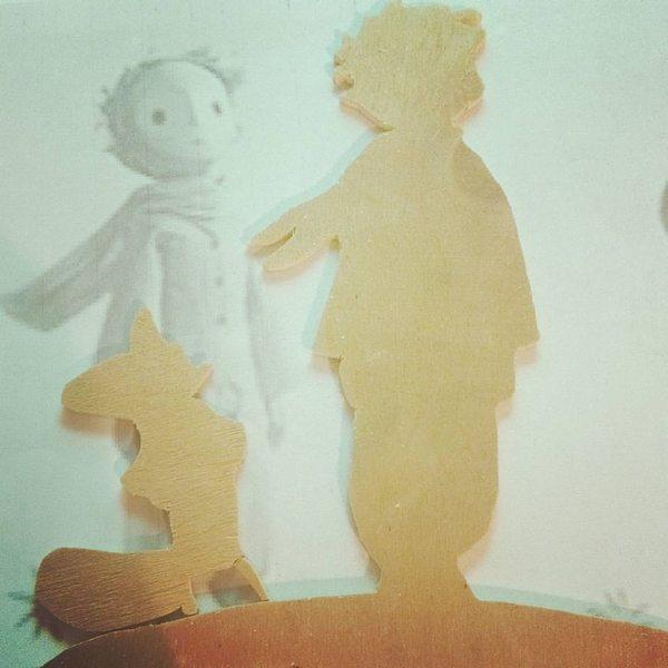 Sagoma fai da te del piccolo principe e la sua tenera - Foglio colore coniglietto pasquale ...