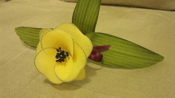 Festa della Donna creativa: come fare un fiore con le calze di nylon colorate creativapp home decor plastica Riciclo Creativo