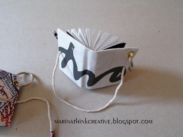 Come fare un libricino portachiavi carta e cartone creativapp regali fai da te