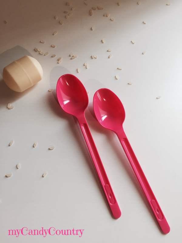 Maracas fai da te con cucchiai di plastica per Capodanno Capodanno fai da te plastica Riciclo Creativo