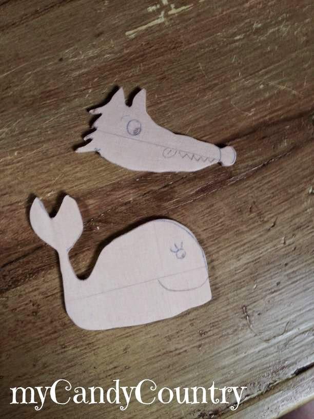 Mollette di legno decorate legno e natura Riciclo Creativo