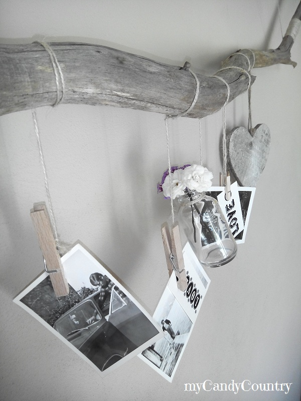 Amato Riciclo creativo: portafoto home decor fai-da-te  BV57