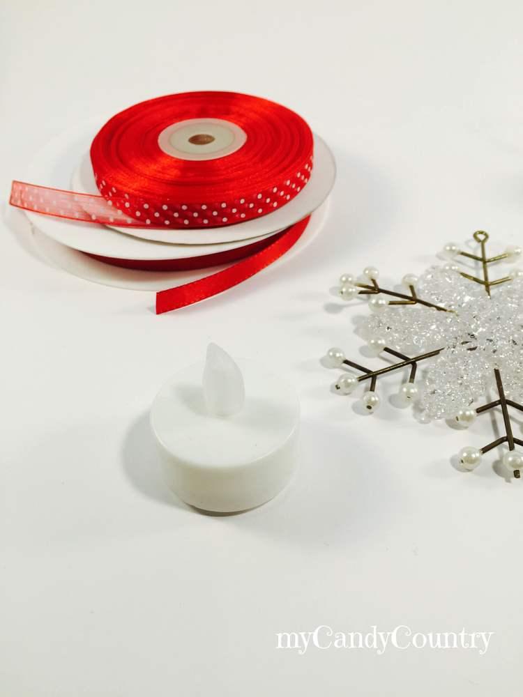 Pupazzo di neve fai da te riciclando tealight home decor Natale fai da te