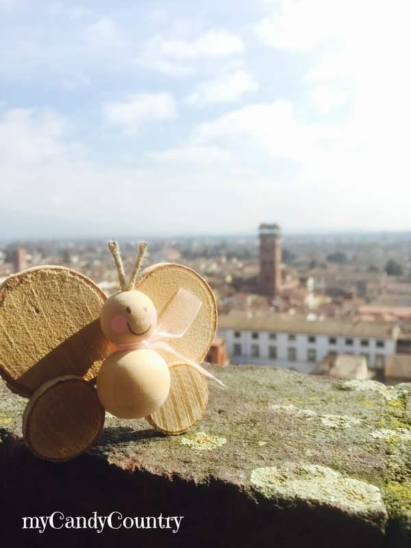 Farfalle fai-da-te: favola e tutorial home decor legno e natura Primavera fai da te Riciclo Creativo