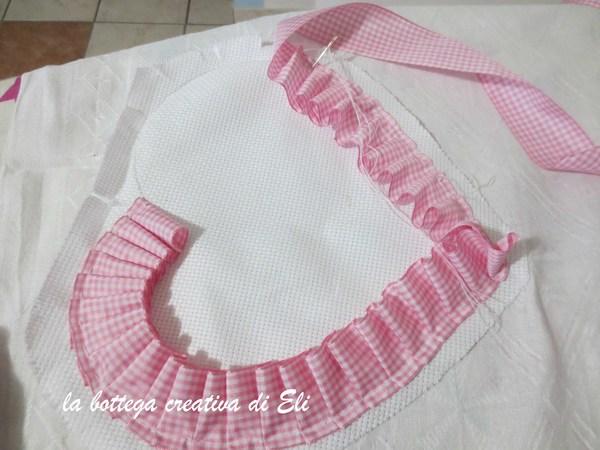 Conosciuto Come realizzare un fiocco nascita a forma di cuore  SD73