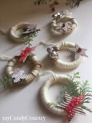 ghirlande-natalizie-riciclando-anelli-delle-tende-14