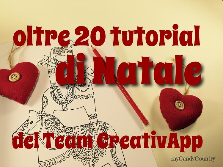 Conosciuto Addobbi di Natale fai da te: oltre 20 tutorial del Team CreativApp  GI14