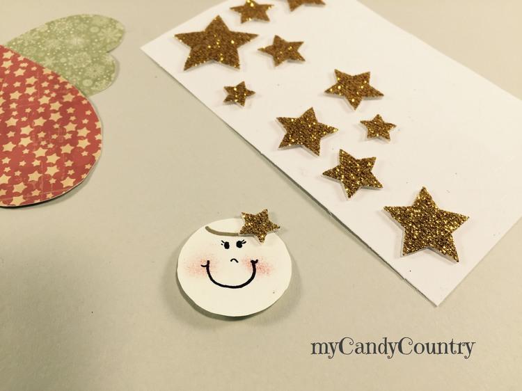 Biglietti di Natale fai da te con angeli di carta carta e cartone Natale fai da te packaging