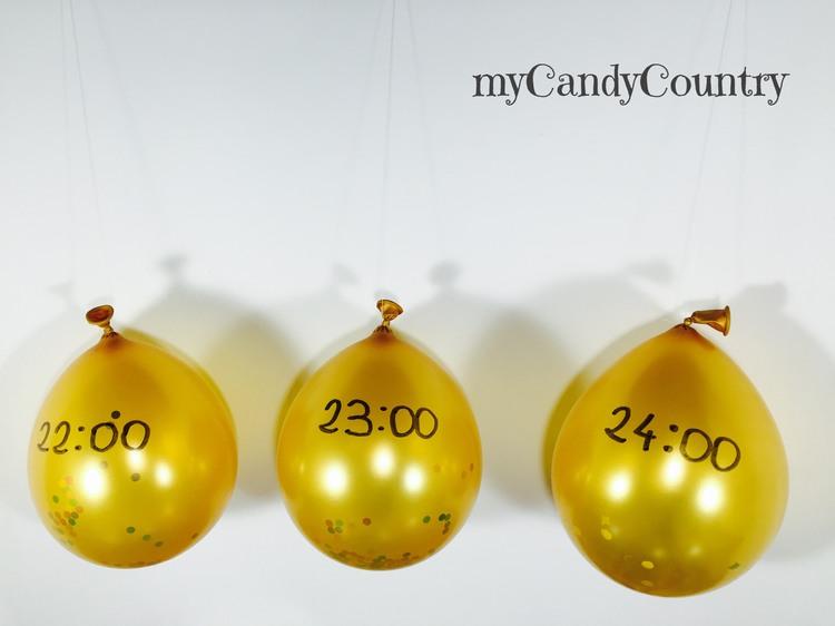 Decorazioni di capodanno fai da te con palloncini - Decorazioni tavola capodanno fai da te ...