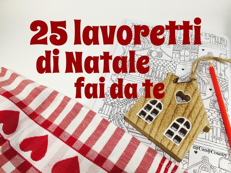 Lavoretti di natale fai da te 25 semplici idee da for Natale 2016 addobbi fai da te
