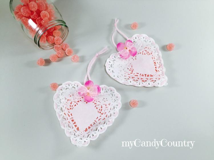 Porta caramelle fai da te per san valentino san for Porta borse fai da te