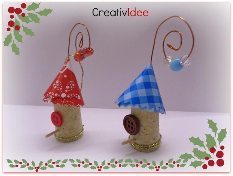 Idee creative con tappi di sughero: nidi segnaposto creativapp legno e natura Riciclo Creativo