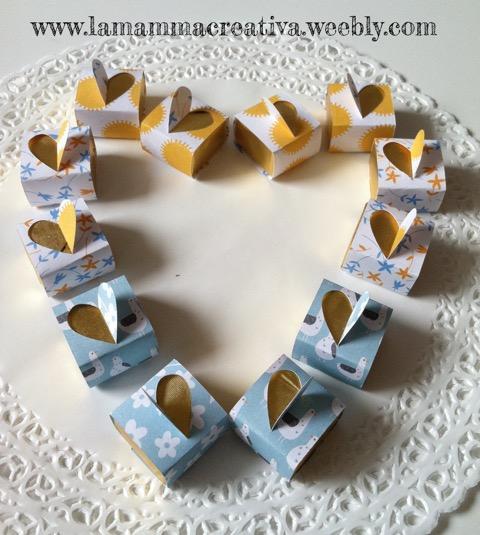 Cioccolatini vestiti d'amore per San Valentino fai da te creativapp San Valentino fai da te