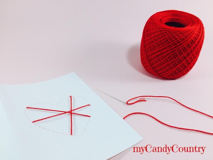 Biglietti di San Valentino fai da te carta e cartone San Valentino fai da te
